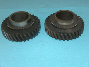 1966 1967 Ford Fairlane Toploader 4 Speed Transmission 1st Gear Close Ratio Pair