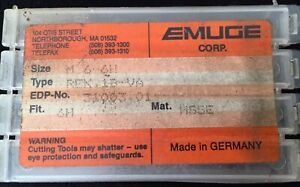 Lot Of 3 Nos Emuge Corp M6 6h Tap High Performance Machine Taps 6mm 6 Mm