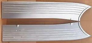 1941 Ford Pickup Truck Stamped Steel Running Boards as Original Usa Made