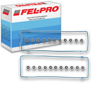 Fel pro Valve Cover Gasket Set For 1994 1997 Ford Thunderbird Felpro Wq