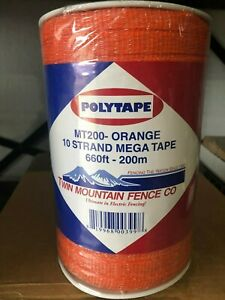 Heavy Duty 10 Strand Electric Poly Tape 660