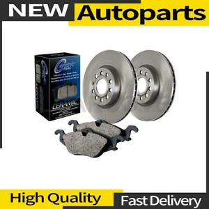 1x Front And Rear Centric Parts Disc Brake Pad And Rotor Kit For Honda Element