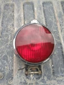 Vintage Unity Model S 3 Red Emergency Police Light