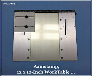 Aamstamp Machine 12 X 12 Worktable Hot Foil Stamping Machine