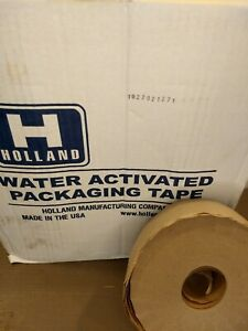 10 Rolls Reinforced Water Activated Packaging Tape 2 75 X 450 Holland Usa