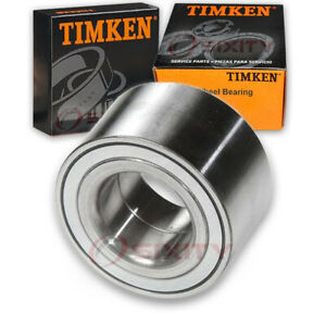 Timken Front Wheel Bearing For 2007 2012 Lincoln Mkz Left Right Driver Wm