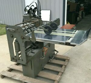 Rosback 202t 2 head Stitcher Stainless Steel Delivery Table Missouri