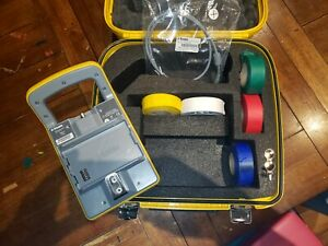 Trimble Power Kit Carrying Case W keys Cable Battery Adapter Exc Condition