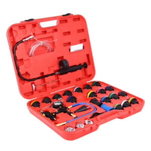 27pcs Master Cooling Radiator Pressure Tester With Vacuum Purge