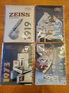 Zeiss Cmm Commemorative Plates Measuring Hero 100 Years
