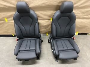 2017 2018 2019 Bmw 530i G30 Front Left Right Front Seats Oem Nice Black Complete