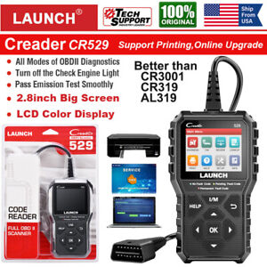 Launch Obd2 Scanner Code Reader Automotive Scan Tool Engine Check Car Diagnostic