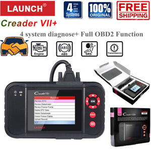 Launch Vii As Crp123 X Obd2 Scanner Engine Abs Srs Transmission Diagnostic Tool