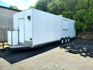 28ft Kitchen Trailer Mobile Kitchen Catering Truck Food Truck