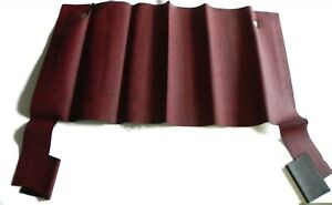 1961 62 Plymouth Rear Rubber Replacement Mat Nors Red Orca 1181 3