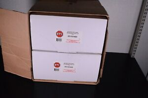 2x Sti Aed Protective Cabinet With Backplate Thumb Lock Clear Sti 7531aed