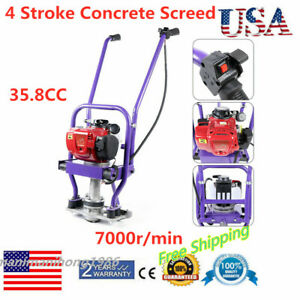 35 8cc 4 Stroke Gas Concrete Screed Engine Wet Power Screed Cement Assembly New