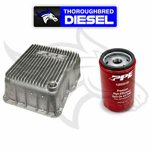 Ppe Deep Transmission Pan Raw For 01 20 Gm Duramax Allison W Double Deep Filter