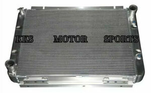 Polished Kks 3 Rows Radiator For 1960 1963 Ford Galaxie galaxie 500 Xl