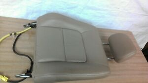 1997 2001 Toyota Camry Genuine Factory Tan Leather Passenger Seat Back Section