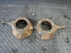 Jeep Willys Dana 25 27 41 71 Driver Passenger Side Closed Knuckle Set Pair Oem