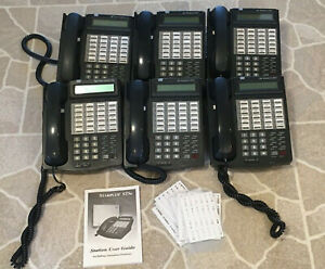 Vodavi Starplus Sts Commerical 24 Button Business Phone Lot Of 6 3515 71