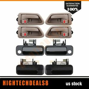 For 97 01 Toyota Camry 8x Outside Inside Front Rear Left Right Door Handles