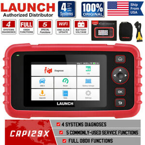 Launch X431 Crp129x Car Obd2 Scanner Code Reader Abs Srs Engine Diagnostic Tool