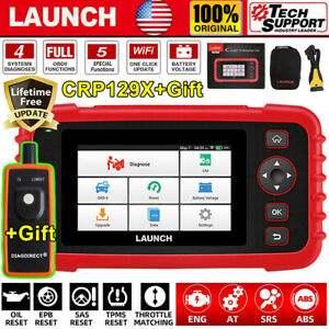 2020 Launch X431 Crp129x Obd2 Auto Abs Srs Engine Diagnostic Scanner Code Reader