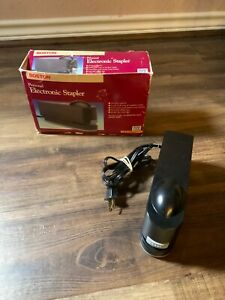 Electric Personal Stapler Boston Vintage Home Office Made In Usa