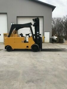 Royal 22500 Capacity Cushion Tire Lp Forklift With Side Shift