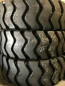17 5 25 17 5 25 17 5x25 Terra Plus E3 16ply Loader Tire