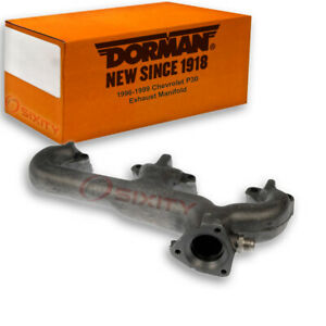 Dorman Left Exhaust Manifold For Chevy P30 1996 1999 5 7l V8 Nw