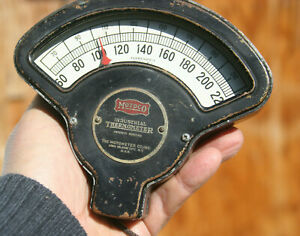 Motometer Vintage Thermostat Thermometer Gauge Water Tempearture