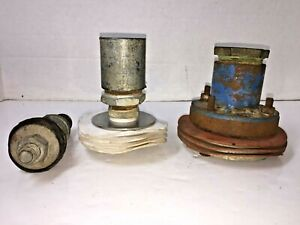 Lot Of 3 Industrial 2 3 4 Pipe Cleanout Tool Sewer Water Line Drain Plumbing