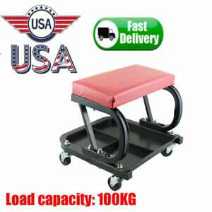 Car Repair Roller Seat Stool Mechanics Creeper Workshop Tray Maintenance Tool