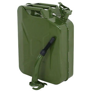 5 Gallon Gas Can Metal Jerry Gasoline Container Tank Emergency Backup Diesel 2x