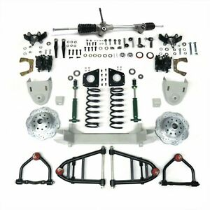 1947 1954 Chevy Pickup Truck Mustang Ii Complete Front End Suspension Ifs Kit Ak