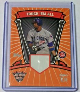 2005 Topps Touch #x27;Em All All Star Game Used Base Derrek Lee 1000 Cubs Marlins $8.00