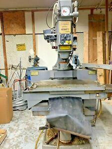 Bridgeport Series Ii Cnc Vertical Milling Machine with New Centroid Cnc Control