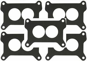 Holley Carburetor Carb Base Plate Gasket 2 Bbl 7448 350 Cfm 5 Pack G42