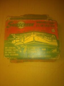 Vtg Sunscreen 1940 S Automotive Accessory Rat Rod Auto Old School Hot Rod