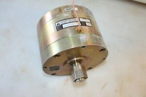 C130 24 Motor 24v Dc Magnetic Particle Clutch Placid Industries Free Shppng