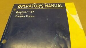 New Holland Boomer 37 Compact Tractor Operator s Manual