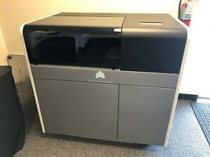 2018 3d Systems Projet Mjp 2500 Plus 3d Printer 800 Print Hrs Cleaning Stations