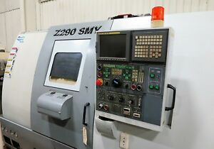 Doosan Z290 smy Twin Spindle Twin Turret Cnc Lathe With Milling And Y axis New