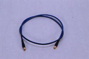 Hubner Suhner Sma To Sma Rf Coax Cable Ef400 1m 11sma 11sma Orbis 4506 40 Inch