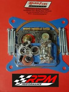 Holley Carburetor Carb Rebuild Kit Double Pumper Super Quick Fuel New 3 302