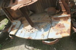 1942 Cadillac 3 Pieces Front Valance Splash Pan br