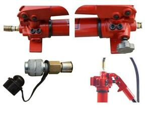 Portable Small Hydraulic Hand Pump For Separate Hydraulic Tool 700kg cm Cp 700